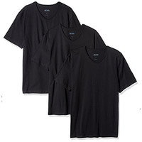 限尺码:BOSS Hugo Boss 男士V领T恤 3件装