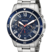 历史新低:FOSSIL Grant系列 FS5238 男士时装腕表