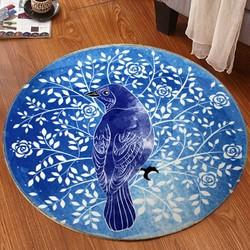 亚亨 可爱圆形地毯 直径60cm 多款可选
