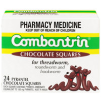 凑单品:Combantrin 驱虫打虫杀蛔虫巧克力块 24块
