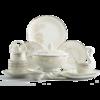 洛威  欧式骨瓷餐具套装 56件套 548元包邮(需用券)