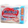 Pigeon贝亲 婴儿清爽湿巾(替换装)80片*6包 日本进口 44.9元