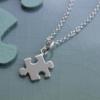 Lily charmed S925银 拼图项链     £17.99包邮包税(约¥162)
