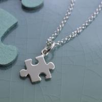 Lily charmed S925银 拼图项链