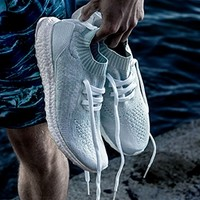 再降价 : adidas 阿迪达斯 ULTRA BOOST UNCAGED x PARLEY 海洋环保 男款潮流跑鞋