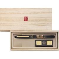 凑单品: Kuretake 吴竹 DU184-015 莳绘物语 扇面 钢笔式毛笔