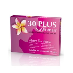 30 Plus NuWoman 女性荷尔蒙补充剂 60片 *3盒