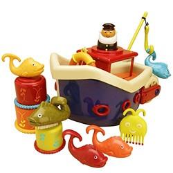 B.Toys 海盗船洗澡玩具套装