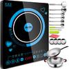 奥克斯 AUX 整版触控 超薄 电磁炉 CM2010L (赠汤锅+炒锅+厨具餐具14件套) 157.52元