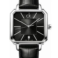 值友专享、淘金V计划:Calvin Klein 卡尔文·克莱 Concept系列 K1U21107 男士时装腕表