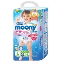 moony 尤妮佳 男婴用拉拉裤 L44片
