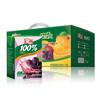 汇源果汁 100%葡萄汁 200ml*12盒   19.9元包邮