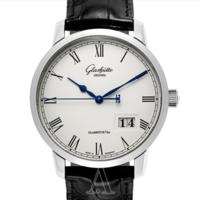 值友专享 : Glashütte 格拉苏蒂 Senator 参议员系列 100-03-32-42-04 男士机械腕表