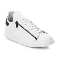 Y-3 Stan Zip 拉链小白鞋
