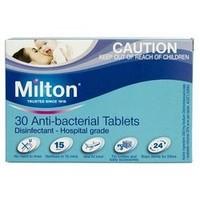 凑单品:Milton 婴幼儿餐具玩具洗护泡腾消毒片 30片