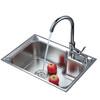 AQURRA 埃佐诺 不锈钢厨房水槽单槽  248元包邮(下单立减)