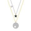 SWAROVSKI 施华洛世奇 5253997 镂空设计星形双层项链*3件 1115.9元包邮含税(需用券)