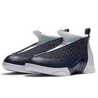 "AIR JORDAN 15 RETRO ""Obsidian""黑曜石 男款篮球鞋"