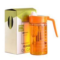 奇异果 玻璃食用油壶油瓶  480ml