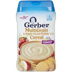 Gerber 嘉宝 苹果甜薯混合谷物米粉 227g