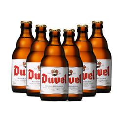督威(DuveL)比利时 原瓶进口 精酿 黄金啤酒 330ml*6瓶