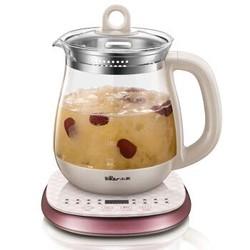 小熊(Bear)养生壶 燕窝壶全自动加厚玻璃家用多功能煮茶器电热水壶 YSH-A18Z1 (带内盅)