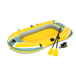 BESTWAY 61083 三人加厚充气船橡皮艇气垫船