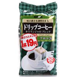日本进口国太楼挂耳咖啡滤挂式咖啡香醇 160g+凑单品