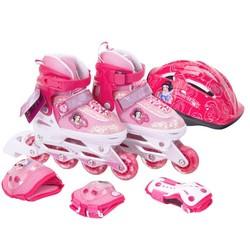Disney 迪士尼 儿童轮滑鞋套装 DCY41214-D