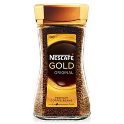 澳洲进口 雀巢Nestle 速溶金牌原味黑咖啡 200g *3件