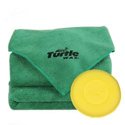 Turtle WAX 龟牌 汽车打蜡抛光毛巾 40*40cm 2条装