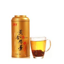 拍下8.5元徐州益顺康黄金牛蒡茶 新鲜牛榜茶圆片铁罐装250克