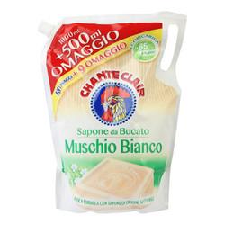 大公鸡管家 液态洗衣皂(白苔香味)补充装 1000ml+500ml 意大利进口