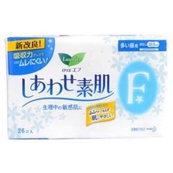 Laurier 乐而雅 F系列 透气干爽敏感肌专用卫生巾 日用 22.5cm 26片 *4件