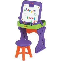Crayola 绘儿乐 5003 单面画板+小凳子