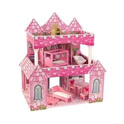 KidKraft 65901 公主城堡 木制过家家别墅