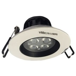 nvc-lighting 雷士照明 led射灯 度 4W(开孔75mm)白色灯面 3000K