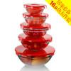 FUNGLINWAHGROUP 多功能5件玻璃保鲜碗套装 16.9元(需用券)