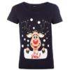 ONLY Reindeer 驯鹿图案 女款T恤 £4.25(约¥40)