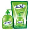 蓝月亮 芦荟抑菌洗手液(瓶+袋补)500g+500g 9.9元
