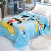 迪士尼毛毯 珊瑚绒毯子儿童毛巾被午睡空调毯午休盖毯 150*200cm 米奇蓝 *2件 118元(合59元/件)