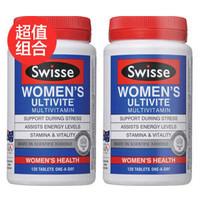Swisse 女性多维生素多矿物质抗氧化草本营养片 120片 *2件