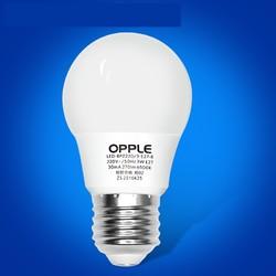 欧普照明 LED灯泡 E27 黄光 2.5W *3件