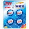 洛娃 洁厕宝50g*4 蓝泡泡马桶自动清洁剂 *2件 12.8元(合6.4元/件)
