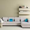 曲美家具家居沙发北欧客厅布艺沙发全拆洗大小户型布沙发组合 F4灰色 左组合 坐在沙发上美人榻在左手边 3949元
