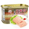 天津 长城 午餐肉 优质火腿罐头198g 6.5元