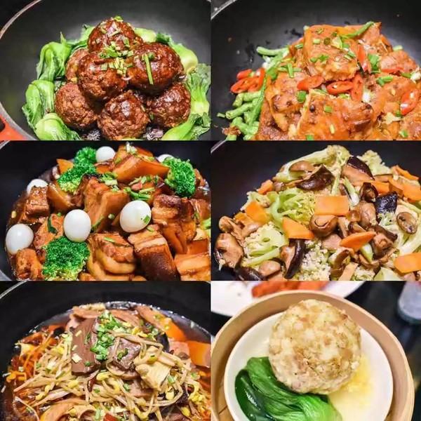 适合波龙+活鲍鱼+现开生蚝+火锅菜品!上海静安超大外卖牛肉的快餐图片