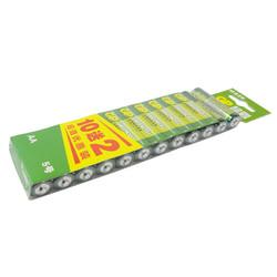 GP超霸电池5号电池    10粒送2粒