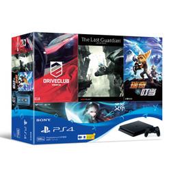 SONY 索尼 PlayStation 4 Slim 500GB 游戏主机 指定游戏同捆套装