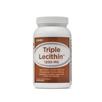 凑单品、值友专享:GNC 健安喜 Triple Lecithin 三倍高浓缩大豆卵磷脂软胶囊 1200mg 90粒